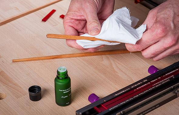 How to make chopsticks -  Step 16