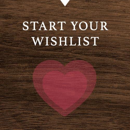 Start your wishlist