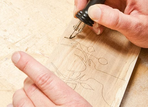 Step-by-Step: Pyrography