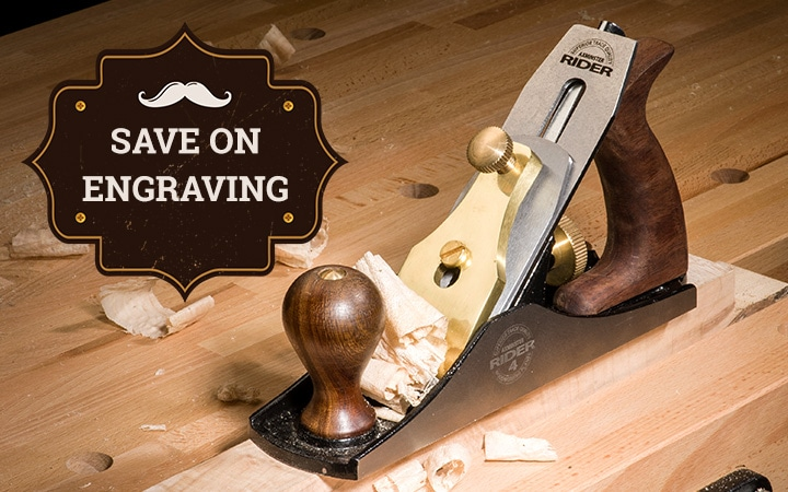 Save on engraving