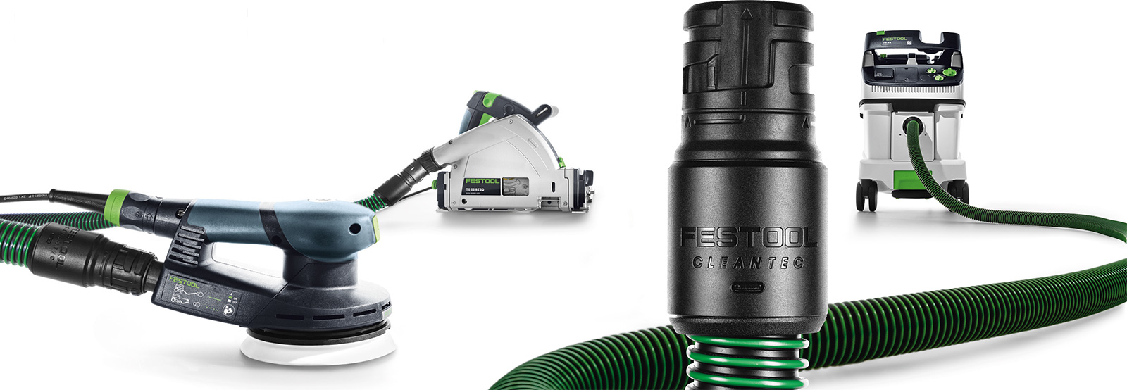 NEW Festool CLEANTEC connecting system