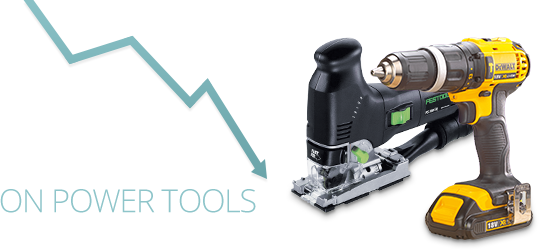 Low Prices on Power Tools