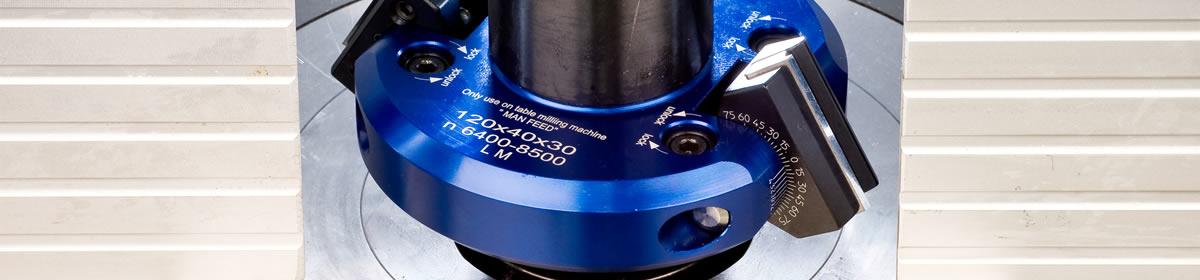 Spindle moulder tooling