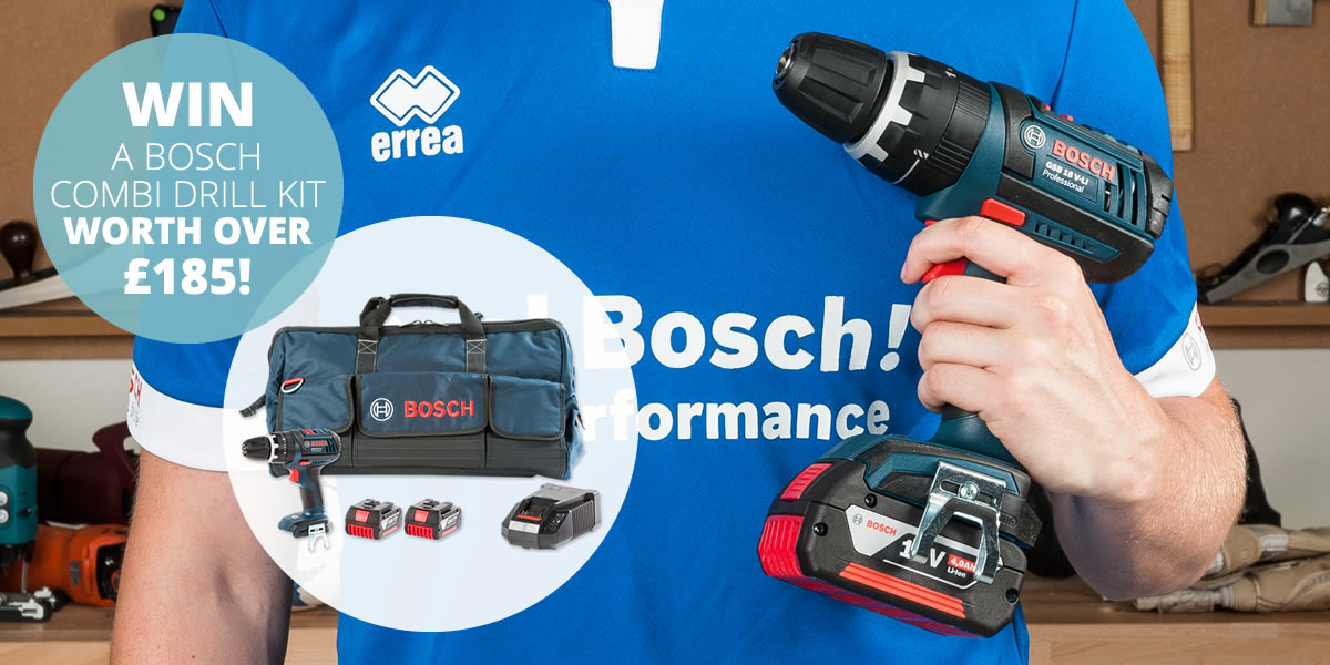 Win! This BoschCombi Drill Kit worth over £185