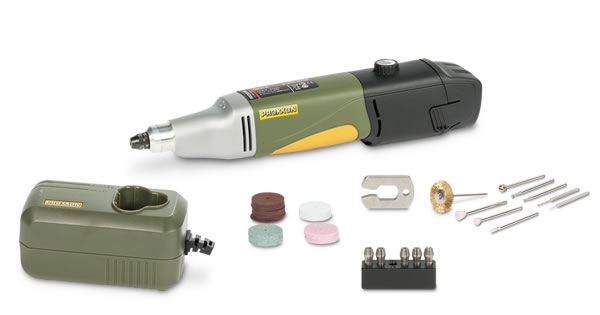 PROXXON Battery-Powered Drill/Grinder IBS/A