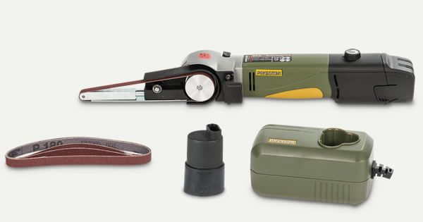 PROXXON Battery-Powered Belt Sander