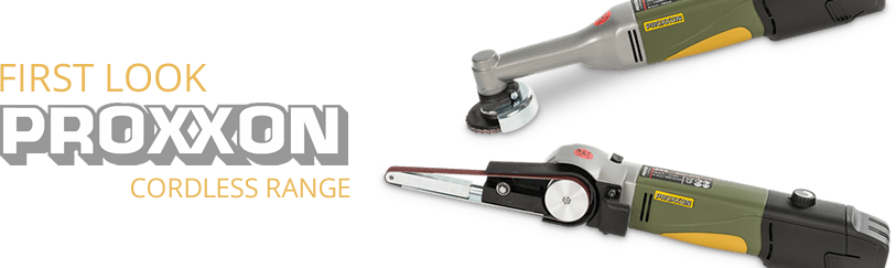 First Look: Proxxon Cordless Range