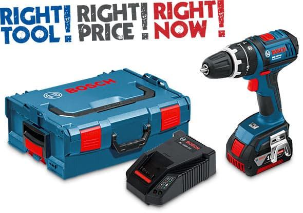 Bosch GSB 18V-Li Combi Drill in L-Boxx 18V (4.0Ah)
