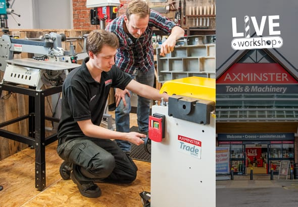 Get hands on with tools and machines