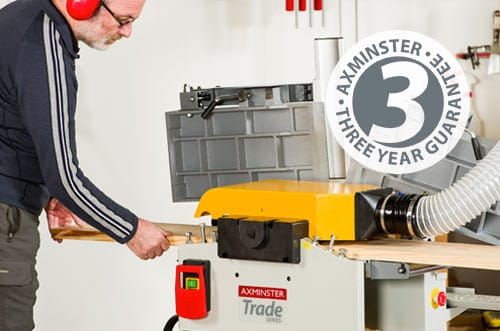Axminster Trade Series Planer Thicknessers