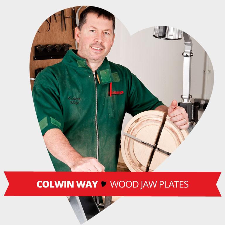 Staff Valentine Pick - Wood Jaw plates