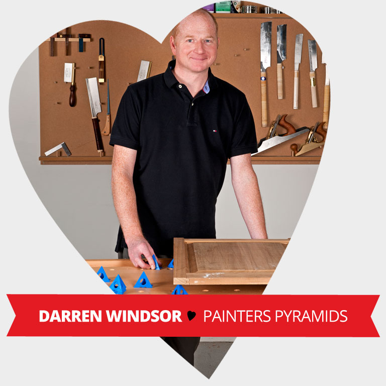 Staff Valentine Pick - Painters Pyramids