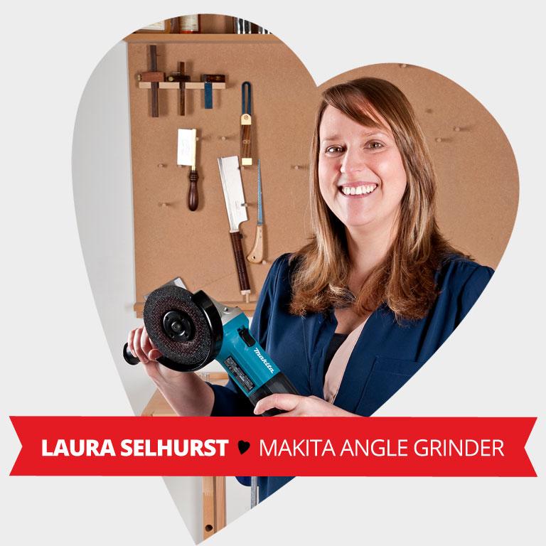Staff Valentine Pick - Makita G45630K Angle Grinder