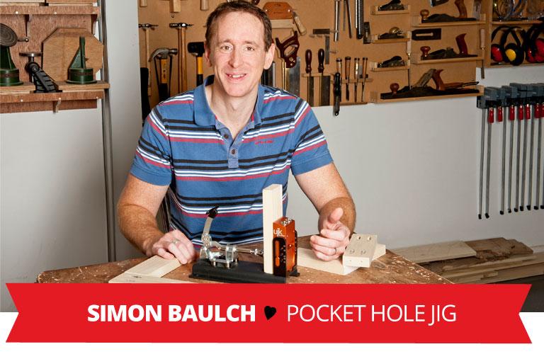Staff Valentine Pick - New UJK Technology Pocket Hole Jig