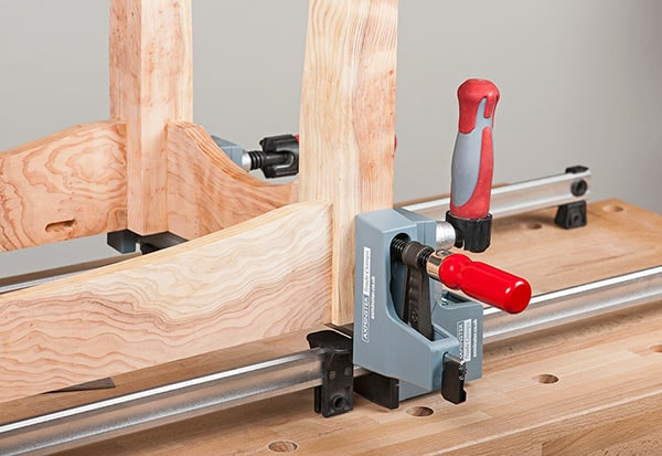 Axminster Trade Clamps in use