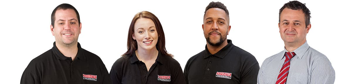 Axminster Tools & Machinery Staff